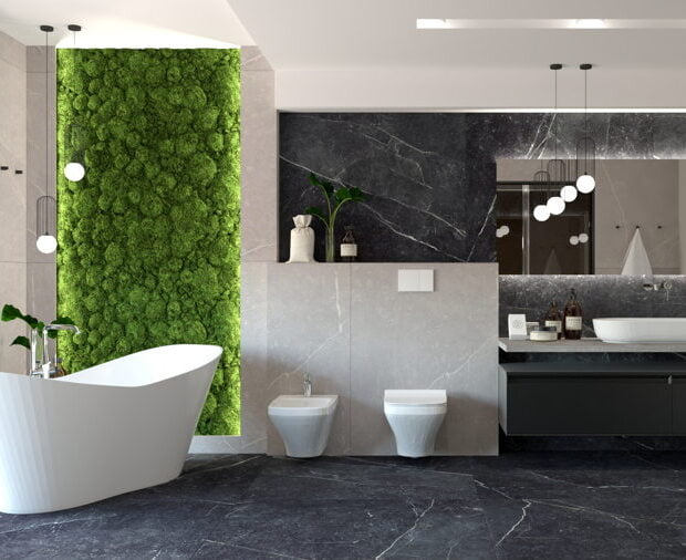 Nowoczesna ekskluzywna łazienka 10