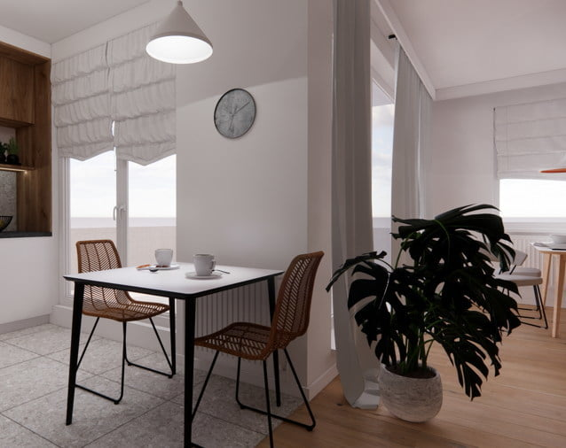 Projekt mieszkania stylowa aranżacja 8