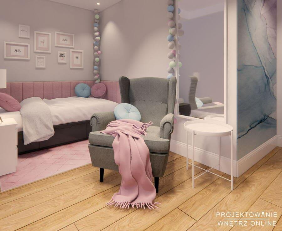 Pastelowy pokój dziewczynki IKEA 4