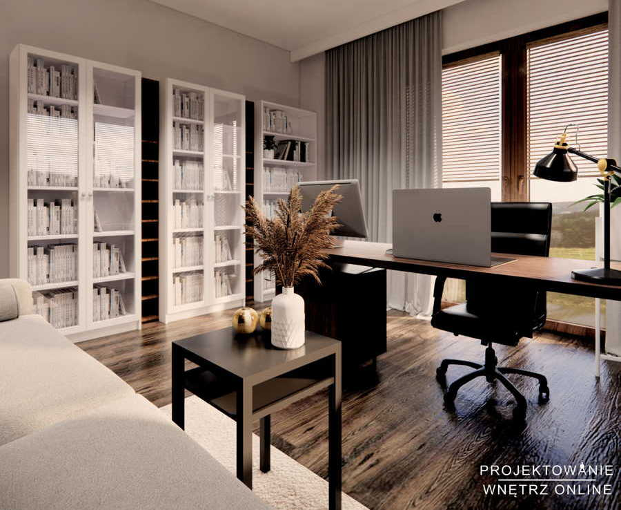 Aranżacja biura w domu 1