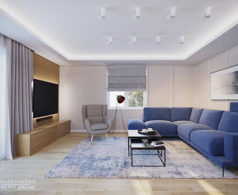 Duży salon projekt 1