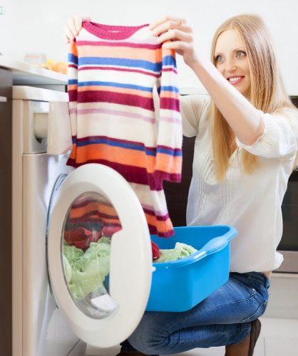 Łazienka pralka