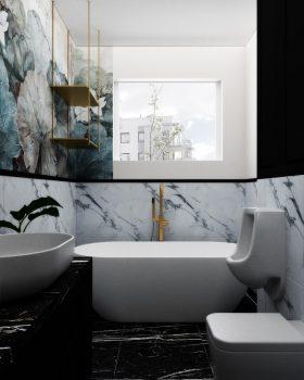 Łazienka w stylu glamour6