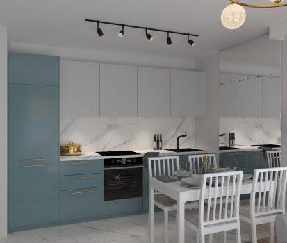 Aranżacja mieszkania w stylu minimalistycznym1