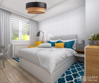 Modna i komfortowa sypialnia 2
