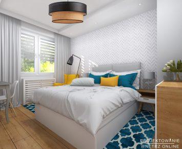 Modna i komfortowa sypialnia 3