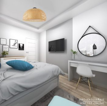 Modna i komfortowa sypialnia 7