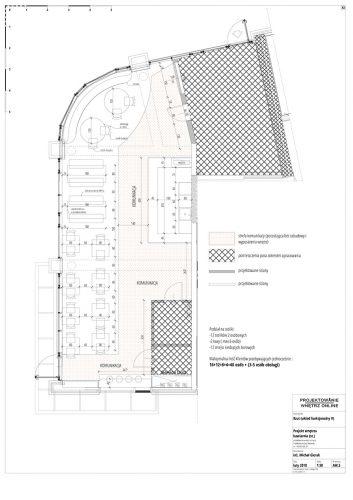 Projekt Restauracji Rozkład Pomieszczeń