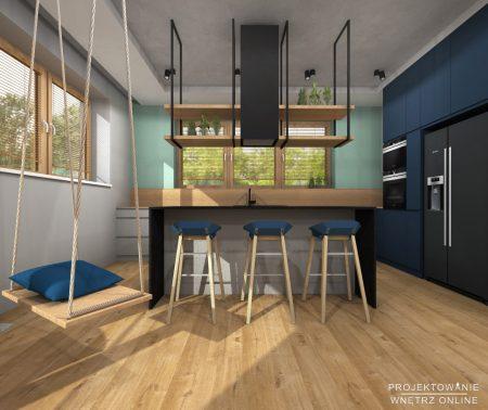 Projekt domu w stylu industrialnym11