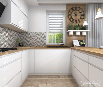 Projekt kuchni w stylu skandynawskim 9