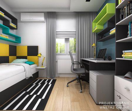 Projekt mieszkania 5pokojowego34