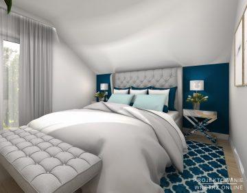 Projekt nowoczesnej sypialni 3