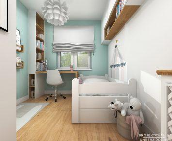 Projekt pokoju dziewczynki 1