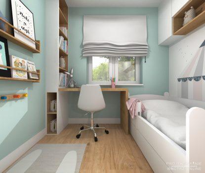 Projekt pokoju dziewczynki 2