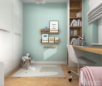 Projekt pokoju dziewczynki 3