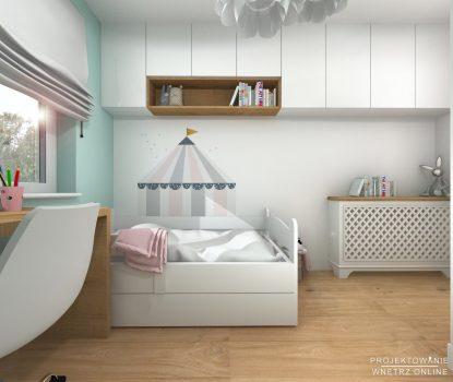 Projekt pokoju dziewczynki 4