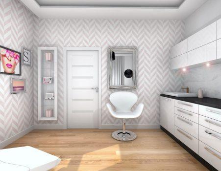 Projekt salonu kosmetycznego 24