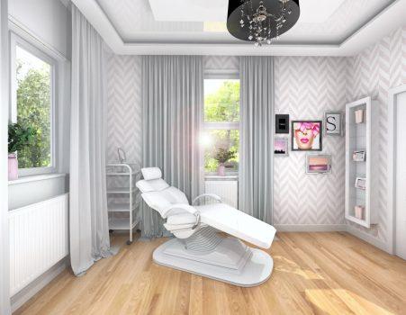 Projekt salonu kosmetycznego 25