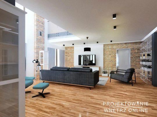 Projektowanie-Wnętrz-Online-Salon-Industrialny-z-cegłą-v3