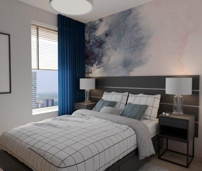 Sypialnia w stylu marynistycznym1