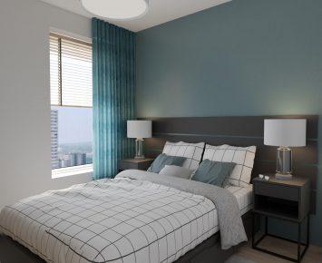 Sypialnia w stylu marynistycznym2