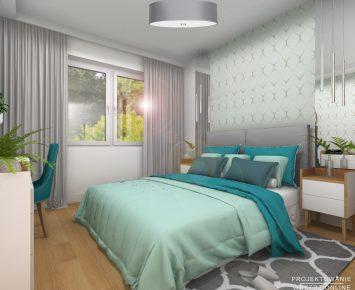 Sypialnia z akcentami maroko 1