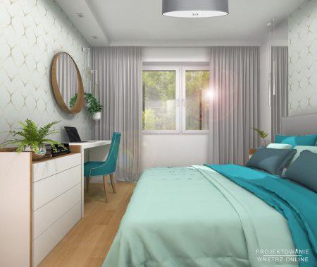Sypialnia z akcentami maroko 2