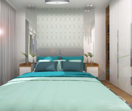 Sypialnia z akcentami maroko 4