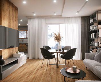 projekt nowoczesnego mieszkania (17)