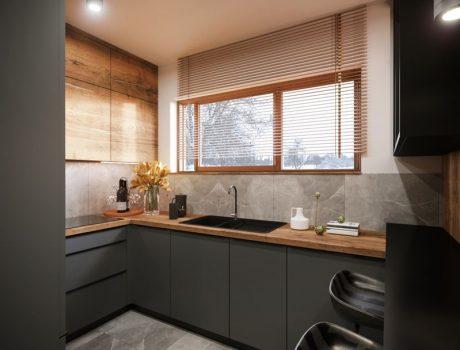 projekt nowoczesnego mieszkania (2)