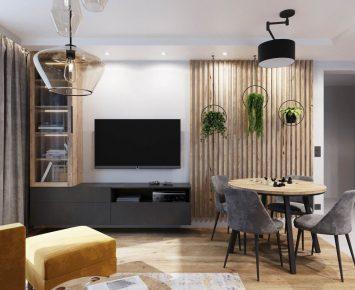 projekt salonu z kuchnią (4)