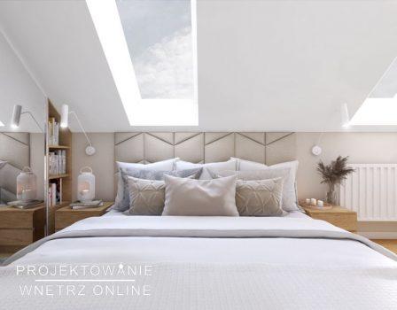 projekt sypialni na poddaszu (1)