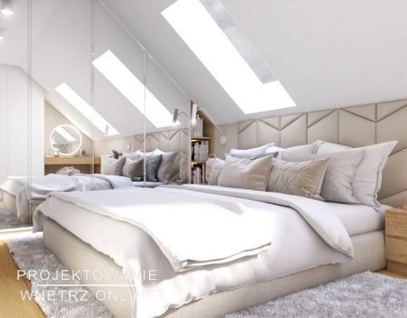 projekt sypialni na poddaszu (2)